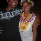 Ebony and her Brother in Hawaii